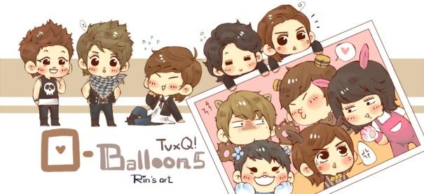 TVXQ BALLOONS