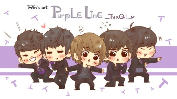 TVXQ PURPLE LINE