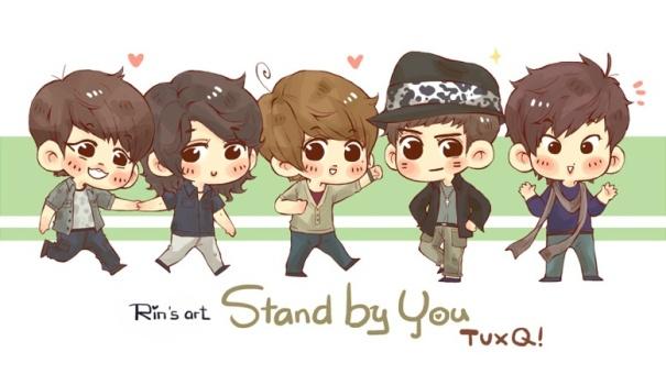 TVXQ STAND BY U